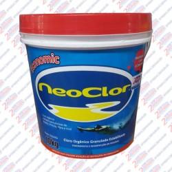 Cloro orgânico  granulado  estabilizado  Neoclor 10 kilos Economic
