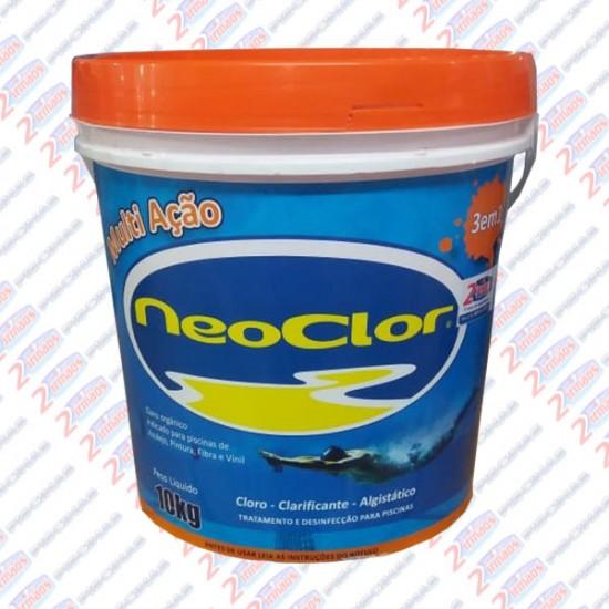 cloro multi ação   neoclor 10 kilos