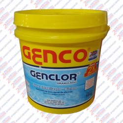 GENCLOR® Cloro Granulado Estabilizado GENCO®  10 kilos