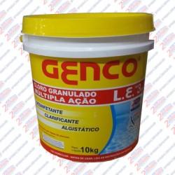 GENCO® L.E. Cloro Granulado Múltipla Ação 3 em 1  10 kilos